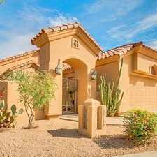 Rental info for Bright Scottsdale, 2 Bedroom, 3 Bath For Rent. ...
