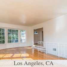 Rental info for A Spacious Comfortable Home In Coveted Westwood... in the Los Angeles area