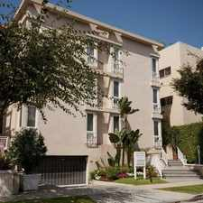 Rental info for Reeves Towers Is A Fabulous Luxurious Apartment... in the Beverly Hills area