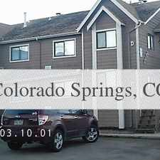 Rental info for S. Academy 2 Bedroom. in the Spring Creek area