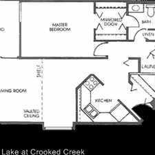 Rental info for 3855 Oak Lake Circle in the 46268 area