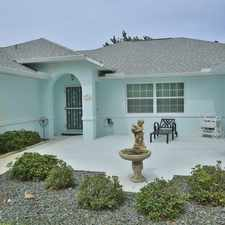 Rental info for Lovely Saltwater Canal Pool Home, Complete With...