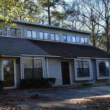 Rental info for Stunning Golf Course Townhome in the Tallahassee area