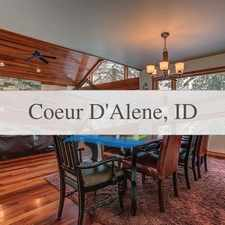 Rental info for Fully Furnished Executive Level Home With Lake ... in the Coeur d'Alene area