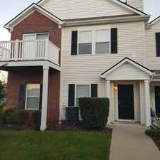Rental info for 12175 Bubbling Brook Drive Unit #100
