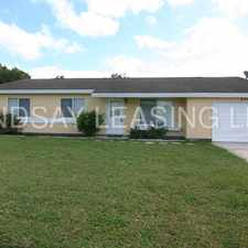 Rental info for Single Family Home | 3 Bedrooms | 2 Baths | 1-Car Garage | Available now