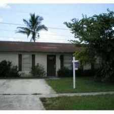 Rental info for 5774 Bermuda Circle South in the West Palm Beach area