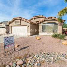 Rental info for 4822 E CHERRY HILLS DR - 3BR 2BA Riggs/Val Vista - BEAUTIFUL SINGLE LEVEL HOME IN THE SUN GROVES COMMUNITY! GREAT KITCHEN, COVERED PATIO - CLOSE TO 202, SHOPPING, RESTAURANTS AND MORE!