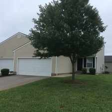 Rental info for TownHome Living With 2-Car Garage!