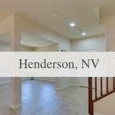 Rental info for This House Is A Must See! in the Henderson area