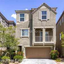 Rental info for 10770 South Holmfield Street in the Henderson area