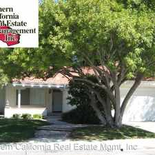 Rental info for 24223 Tossano Drive