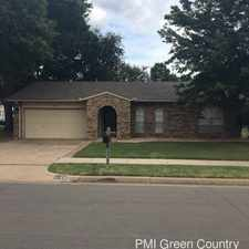 Rental info for 3169 S 133rd E Ave in the Tulsa area