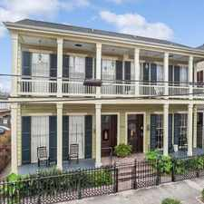 Rental info for $2750 1 bedroom Townhouse in Garden District in the New Orleans area