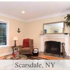 Rental info for This Is An Amazing Home With Fabulous Wooded Vi... in the Scarsdale area