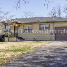 Rental info for 2229 3rd Street Northwest in the Birmingham area