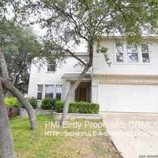 Rental info for 17010 THICKET PALM in the Hill Country area