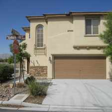 Rental info for 7923 North Kelburn Hill Street in the Tule Springs area