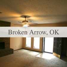 Rental info for Broken Arrow Duplex $850. 00 in the Tulsa area