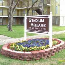 Rental info for Stadium Square in the Baton Rouge area