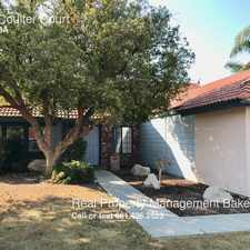 Rental info for 9417 Coulter Court in the Bakersfield area