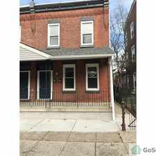 Rental info for Absolutely Brand New Everything!!!!!!!!!!!!!!!!! Beautiful 2fl unit Fully Rehabbed 3BR!! BE THE FIRST TO LIVE THERE!! Section 8 Approved!!! in the Philadelphia area