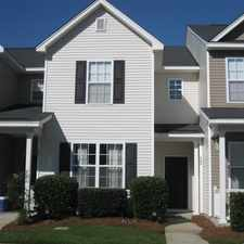 Rental info for 3 Bedroom Townhouse With 3 Full Bathrooms. in the Goose Creek area