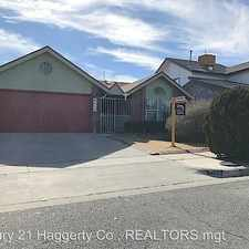 Rental info for 4632 Loma Grande