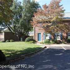 Rental info for 3905-A Valley Court in the Winston-Salem area