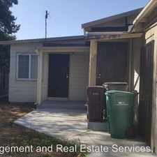 Rental info for 9837 Walnut Street in the Oakland area