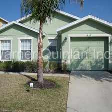 Rental info for Davenport 3/3 With Included Pool And Yard Maintenance!