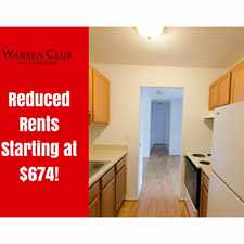 Rental info for Warren Club Apts