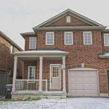 Rental info for Single Family Home in the Mississauga area
