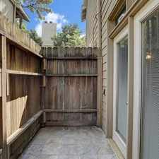 Rental info for Ground Floor, Single Story Near The Energy Corr... in the Houston area