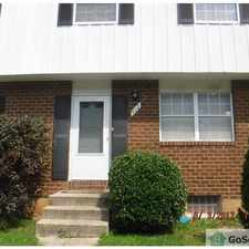 Rental info for Very nice townhome in great neighborhood with finished basement in AA County!