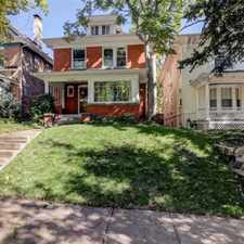 Rental info for CLASSIC 1900 DENVER SQUARE CAPITOL HILL HOME