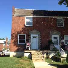 Rental info for 3 bed 1.5 bath townhouse in Northeast Baltimore City in the Glenham - Bedford area