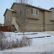 Rental info for Open floor plan South Anchorage home, with a heated garage and fireplace!