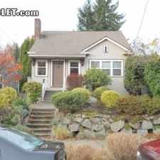 Rental info for Three Bedroom In University District in the Seattle area