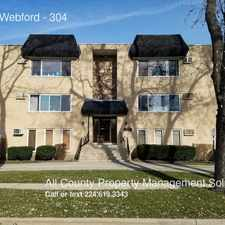 Rental info for 1328 Webford in the Des Plaines area