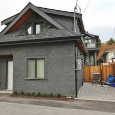 Rental info for 2936 West 33rd Avenue #Upper in the Arbutus-Ridge area