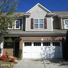 Rental info for 10831 Dancing Wind Road in the Charlotte area