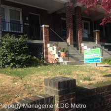 Rental info for 2226 39th Pl NW in the Arlington area