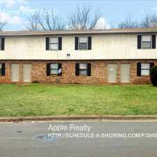 Rental info for 1326 Marne Ave. Apt D in the Durham area