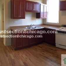 Rental info for **POLK/INDEPENDENCE SECTION 8 BRAND NEW 3BDR 1BT $NO SECURITY$ SEC 8 in the Chicago area