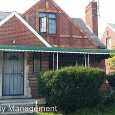 Rental info for 17181 Rowe in the Coleman A. Young International Airport area