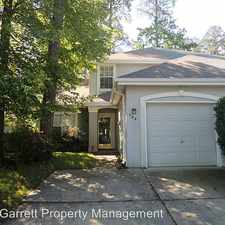 Rental info for 706 West Willow Point Place in the Kiln Creek area