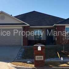 Rental info for Beautiful NEW Home in Bryant Place * Moore Schools * Pick your HOLIDAY SPECIAL! in the Oklahoma City area