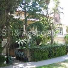 Rental info for Spacious Townhouse-style Condo near Montana in the Los Angeles area