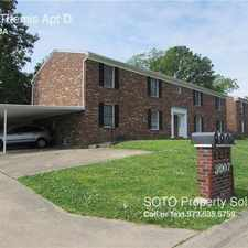 Rental info for 3007 Themis Apt D in the Cape Girardeau area